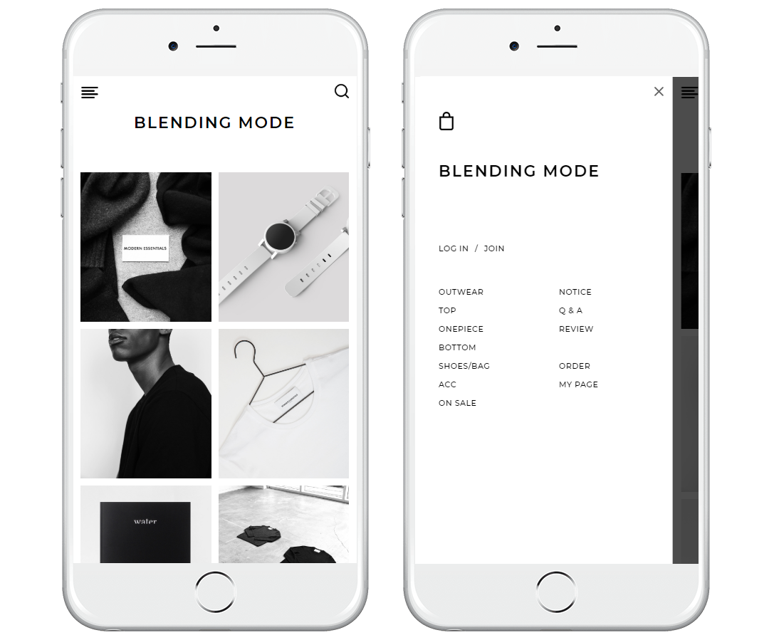 Mobile design # no.29 Blending Mode